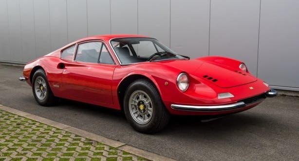 Ferrari Dino render chiave moderna