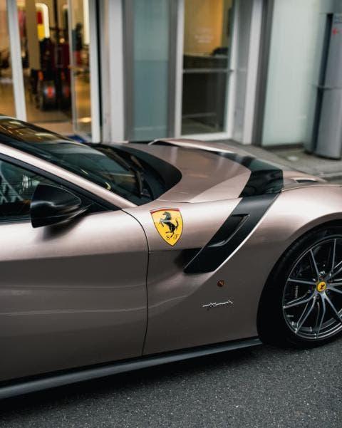 Ferrari F12tdf Bronzo Masaru Lamborghini