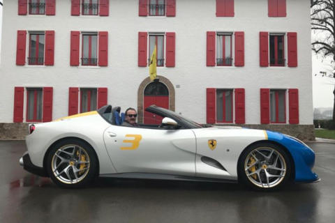 Ferrari SP3JC one-off