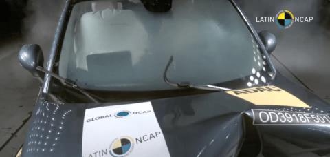 Fiat 500X 5 stelle Latin NCAP