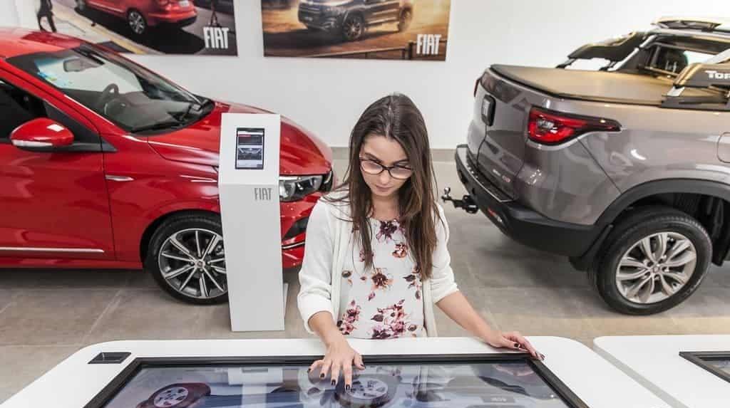 Fiat primo concessionario digitale San Paolo
