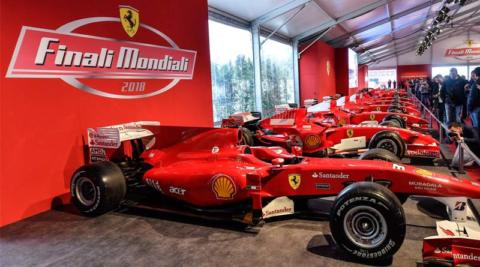 Finali Mondiali Ferrari 2018 incidente