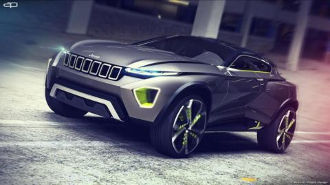 Jeep Concept Freedom render