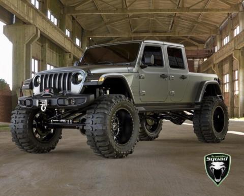 Jeep Gladiator nuovi render