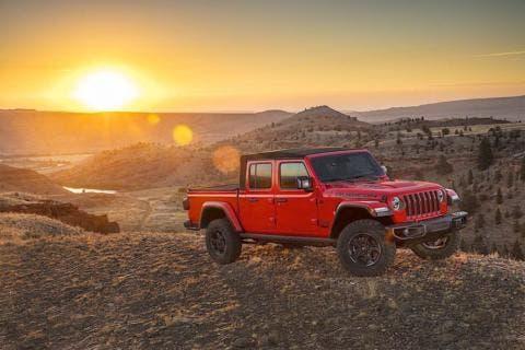 Jeep Gladiator ufficiale
