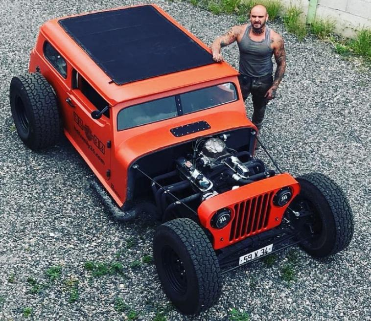 Jeep Wrangler hot rod
