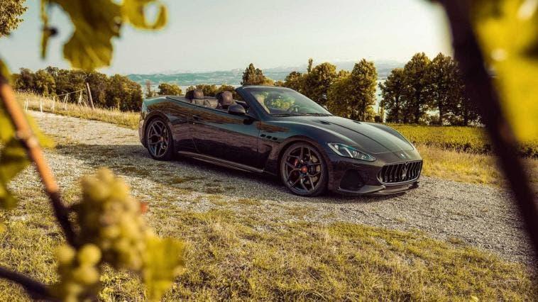 Maserati GranCabrio Pogea Racing