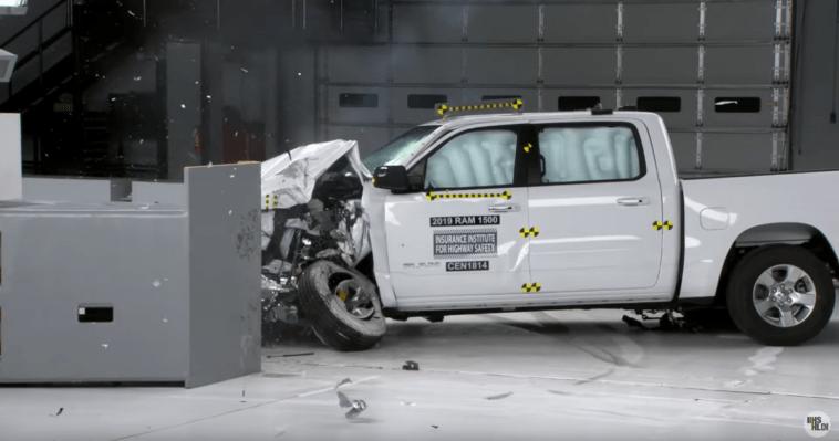 Ram 1500 2019 crash test IIHS