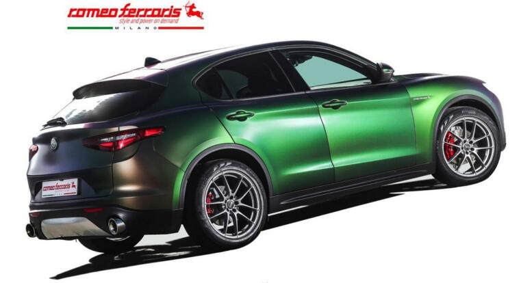 Alfa Romeo Stelvio tuning Romeo Ferraris