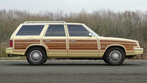 Chrysler LeBaron Wagon Frank Sinatra asta