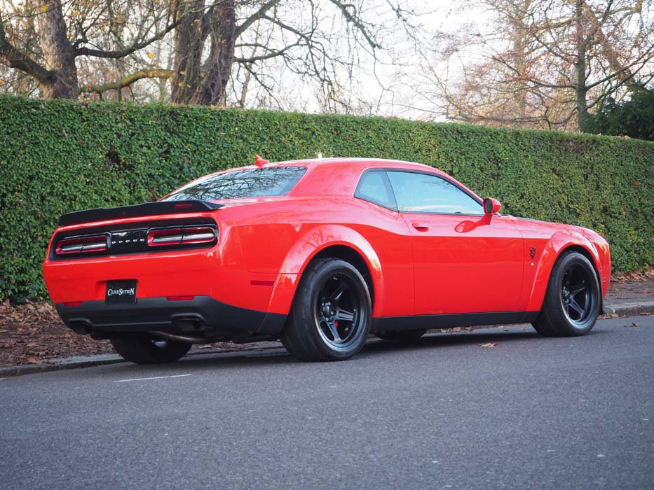 Dodge Challenger SRT Demon vendita Regno Unito