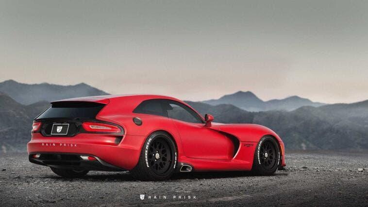 Dodge Viper Shooting Brake render