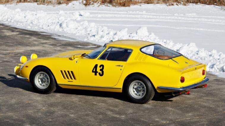 Ferrari 275 GTB 1964 prototipo asta