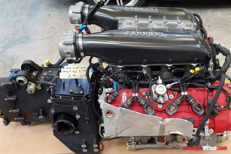 Ferrari 458 GT3 motore vendita online