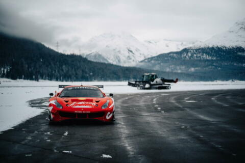 Ferrari 488 GT3 Kessel Racing Team St. Moritz