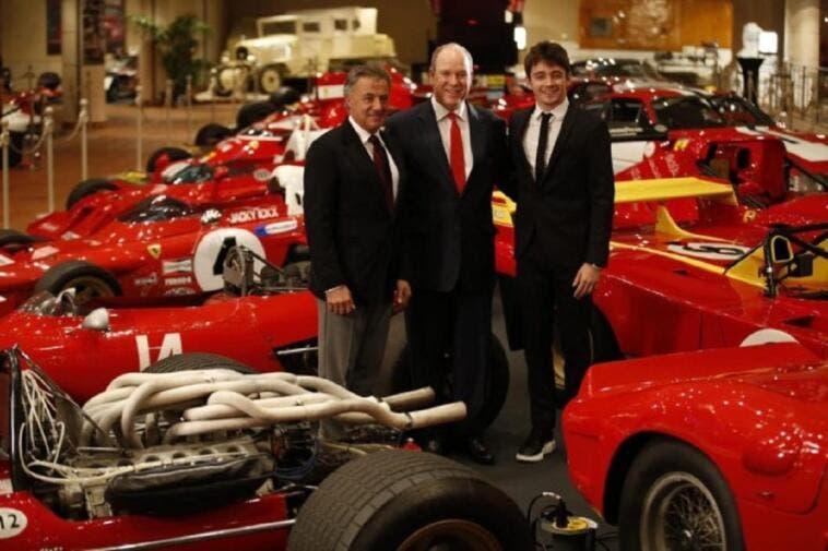 Ferrari 50 modelli storici Principe di Monaco