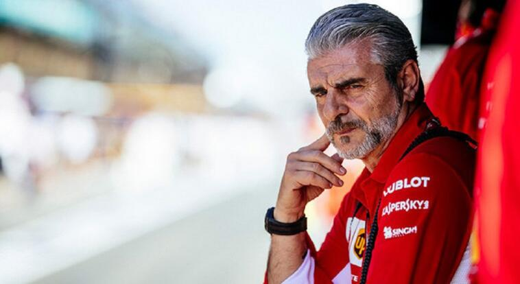Ferrari Arrivabene Charles Leclerc