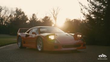 Ferrari F40 Petrolicious video