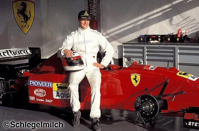 Ferrari Michael Schumacher mostra