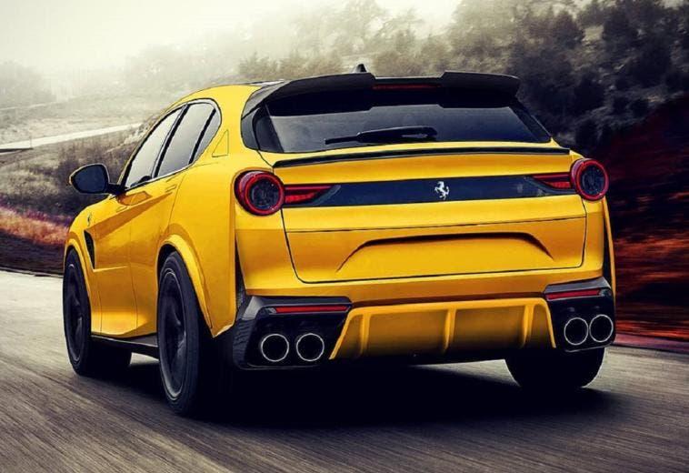 Ferrari Purosangue ultimo render Web