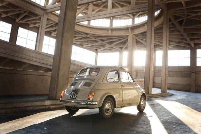 Fiat 500 serie F MoMA New York