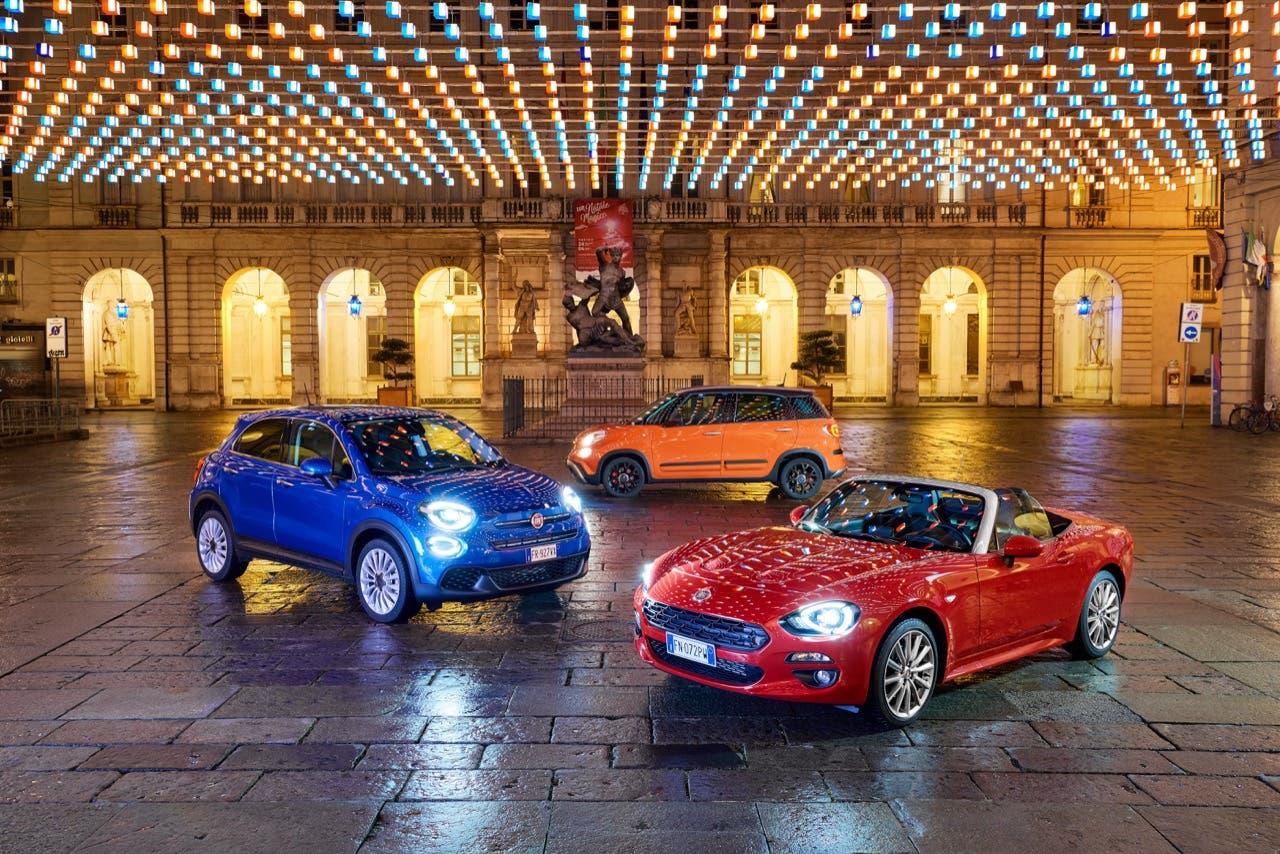 Fiat auto Luci d'Artista Torino