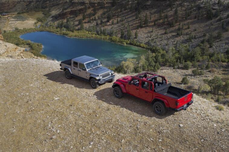 Jeep Gladiator 2020 motivo motore 4 cilindri