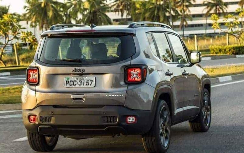 Jeep Renegade motore turbo Brasile