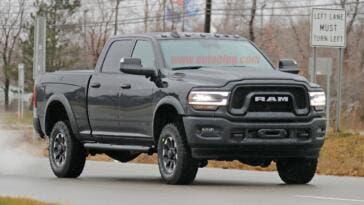 Ram 2500 Power Wagon 2020 nuove foto spia