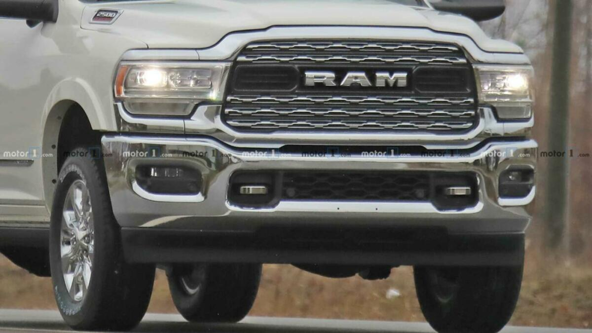 Ram HD 2020 abitacolo foto spia