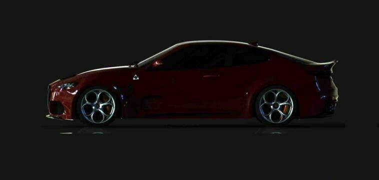 Alfa Romeo GTV Quadrifoglio LP Design