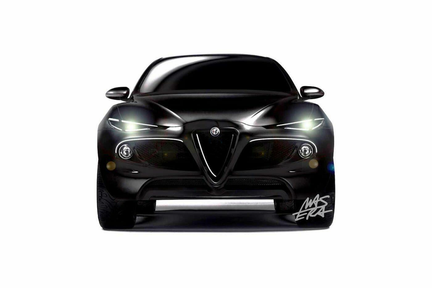 Alfa Romeo Kamal Alessandro Masera nuovo render