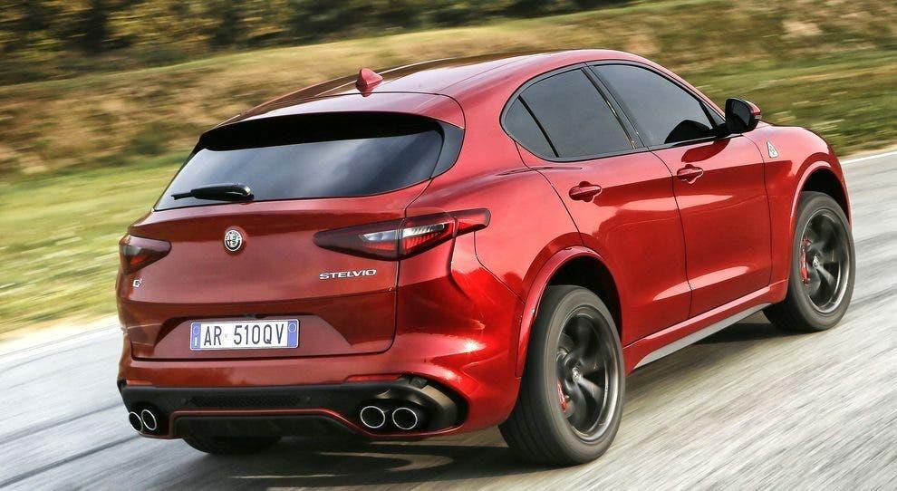 Alfa Romeo Stelvio Quadrifoglio Jeremy Clarkson