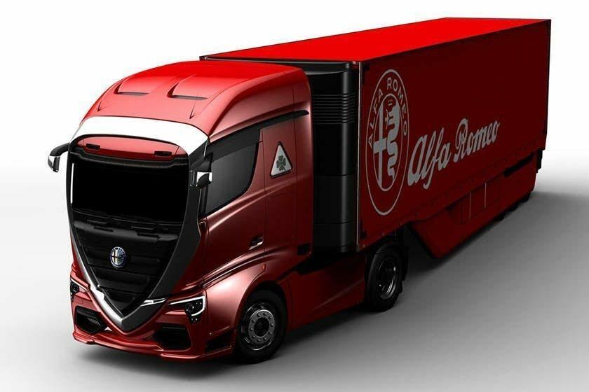 Alfa Romeo camion render