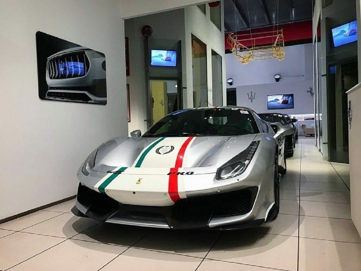 Ferrari 488 Pista Piloti Le Foto Reali Della Versione Argento Nurburgring Clubalfa It