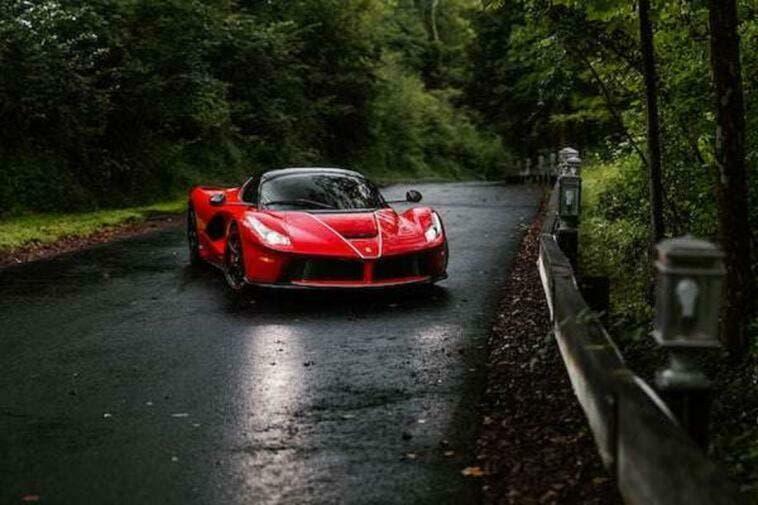 Ferrari LaFerrari Aperta esemplare Mecum