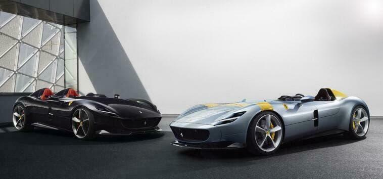 Ferrari Monza SP1 e SP2 video