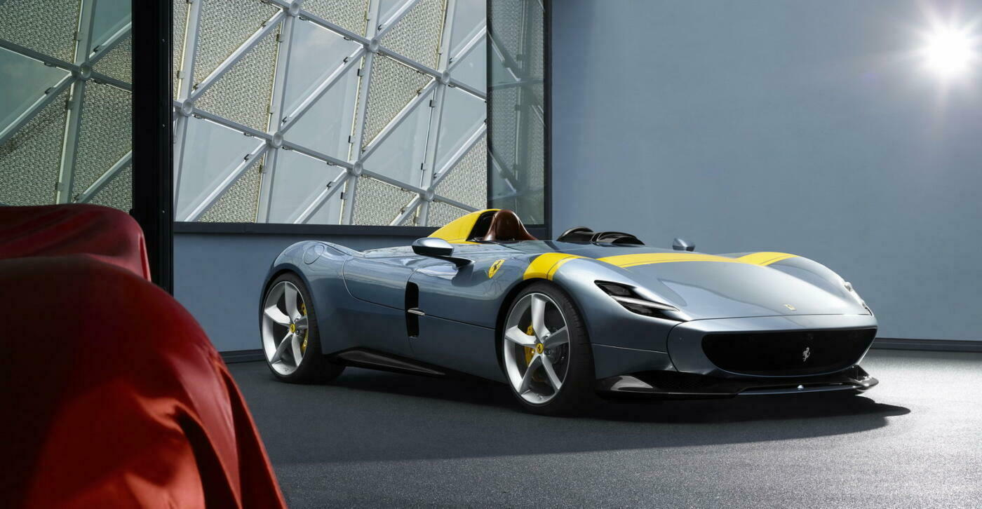 Ferrari Monza SP1 e SP2 video