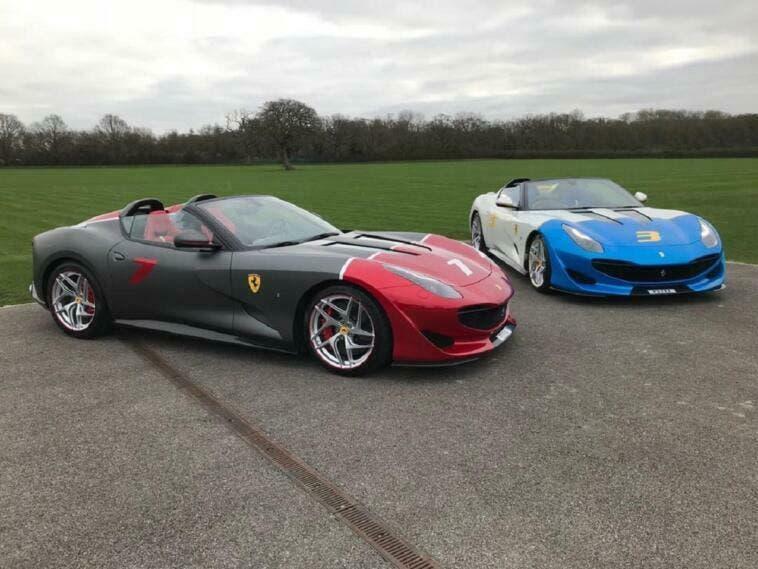 Ferrari SP3JC matte grey video