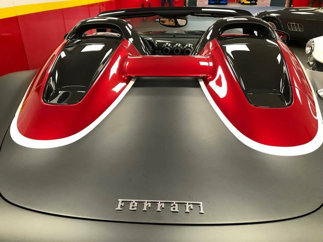 Ferrari SP3JC matte grey video