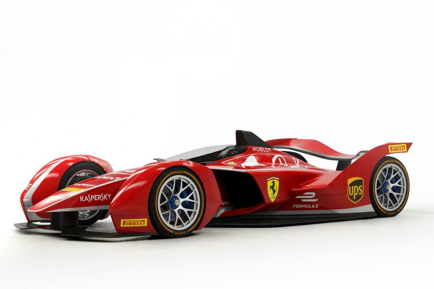 Ferrari monoposto elettrica Formula E