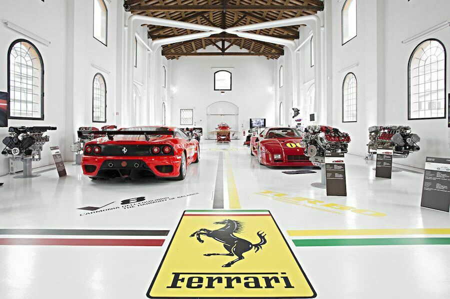 Ferrari musei oltre mezzo milione visite 2018