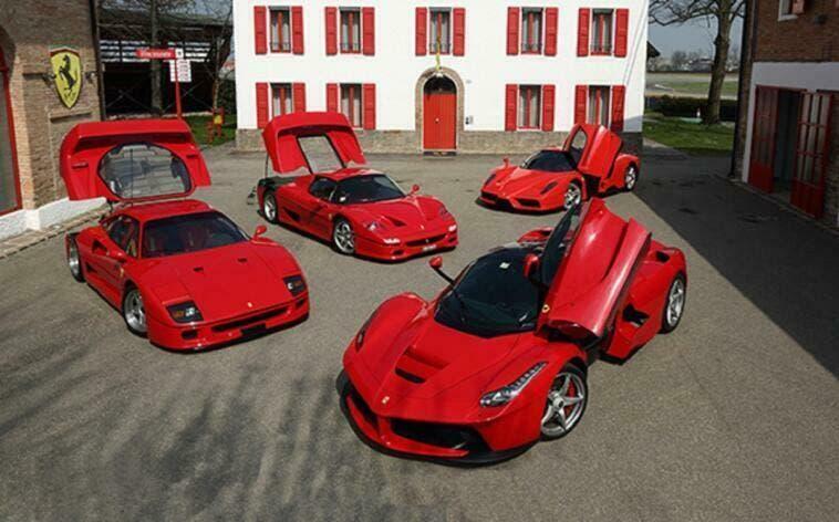 Ferrari telai nuovi modelli Lecce