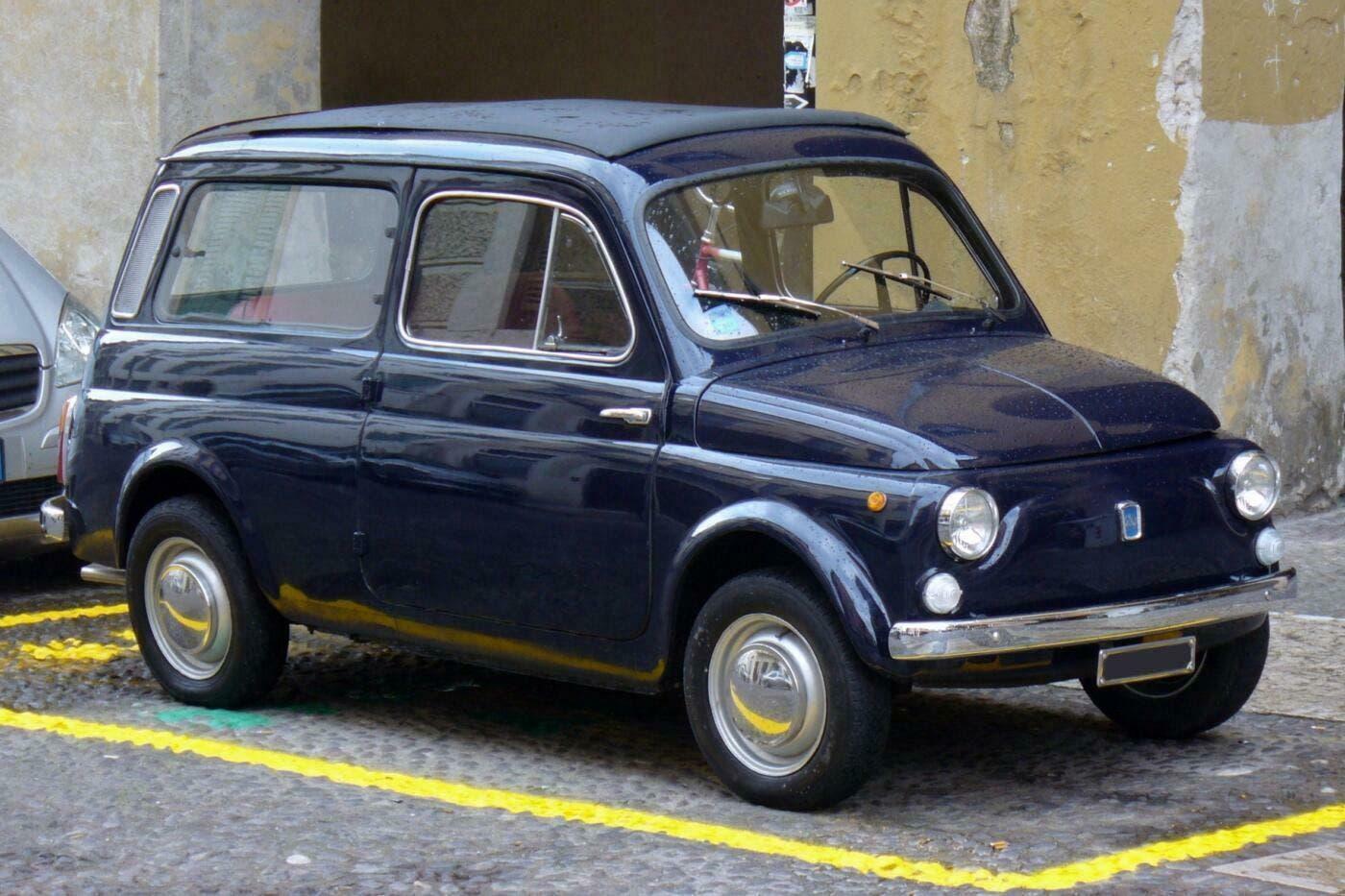 Fiat 500 Club Italia ospedale Genova