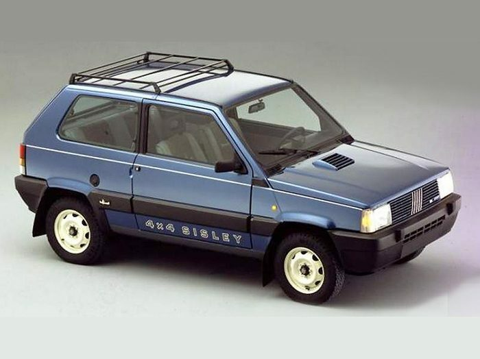 Fiat Panda 4x4 Sisley The Grand Tour