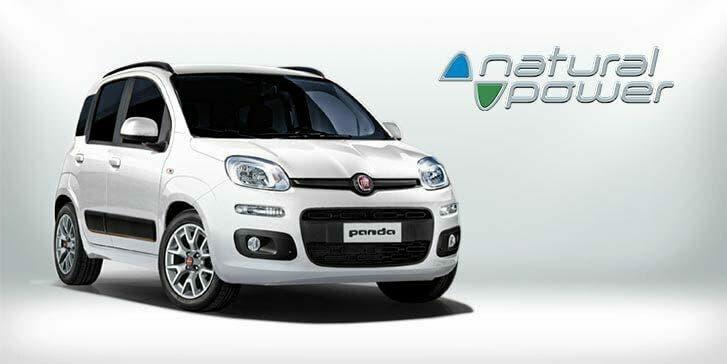 Fiat Panda metano ADAC