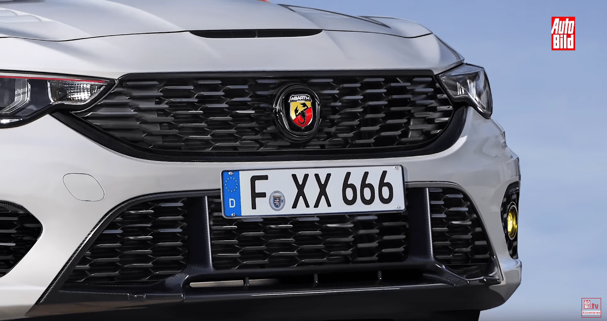 Fiat Tipo Abarth render