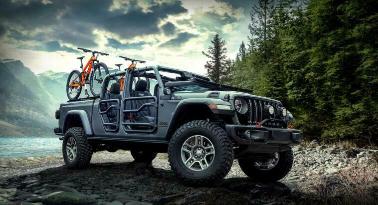 Jeep Gladiator Rubicon Mopar Salone di Detroit
