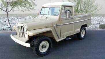 Jeep Willys 1955 asta