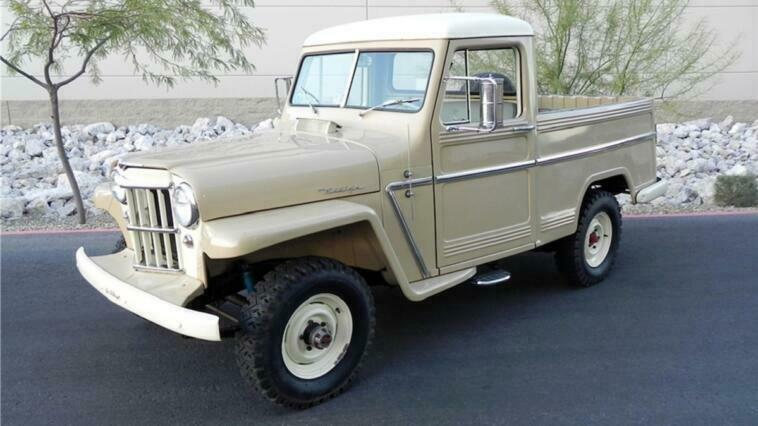Jeep Willys 1955 asta